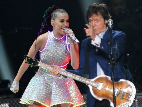 Stop the press: Paul McCartney has twerked with Katy Perry