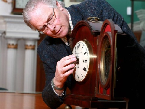 This guy has already put 4,000 clocks back, we're sure you can manage one