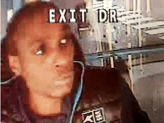 This is the face of a man being hunted by police after he stole a double-decker BUS and went on a seven-mile JOYRIDE. See SWNS story SWBUS; Met Police say the man walked into the Farnborough Hill bus depot in Orpington, Kent, at around 9:15pm on 15 September. He then stole a bus and went on a seven-mile journey before finally coming to a halt in Croydon, south London ñ at a BUS STOP.