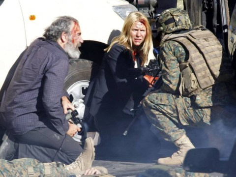 Has Carrie been shot? Claire Danes seen covered in blood during Homeland season 4 filming