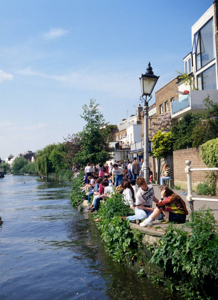 Relaxing by the river in Chiswick (Pic: supplied)
