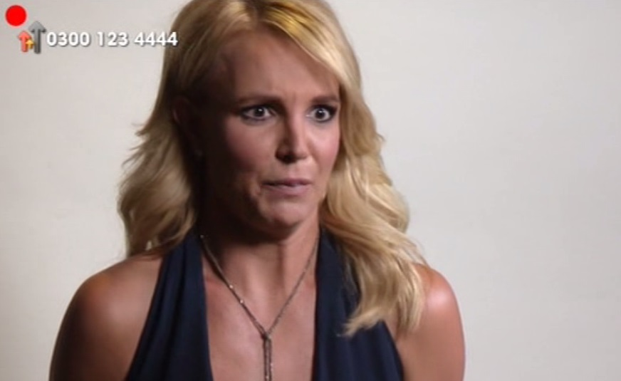 Britney Spears did a pretty naff impression of Andy Murray's girlfriend Kim Sears