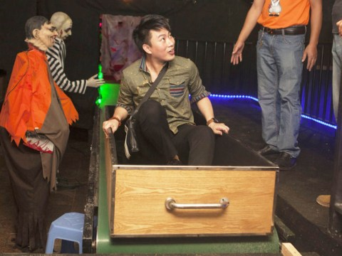 Get a taste of the afterlife with one theme park's cremation ride