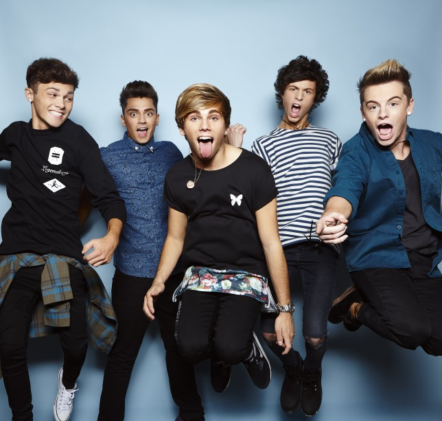 wildcard, Overload - The X Factor 2014 (Picture: Thames/Syco)