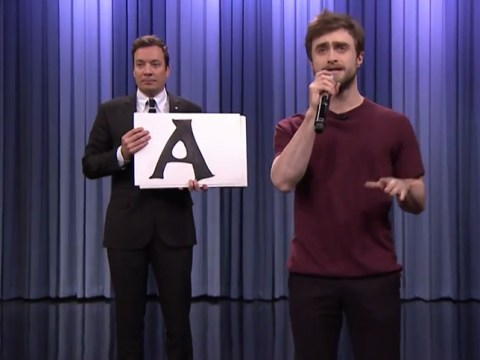 Daniel Radcliffe basically won television after showing off his rapping skills on The Tonight Show