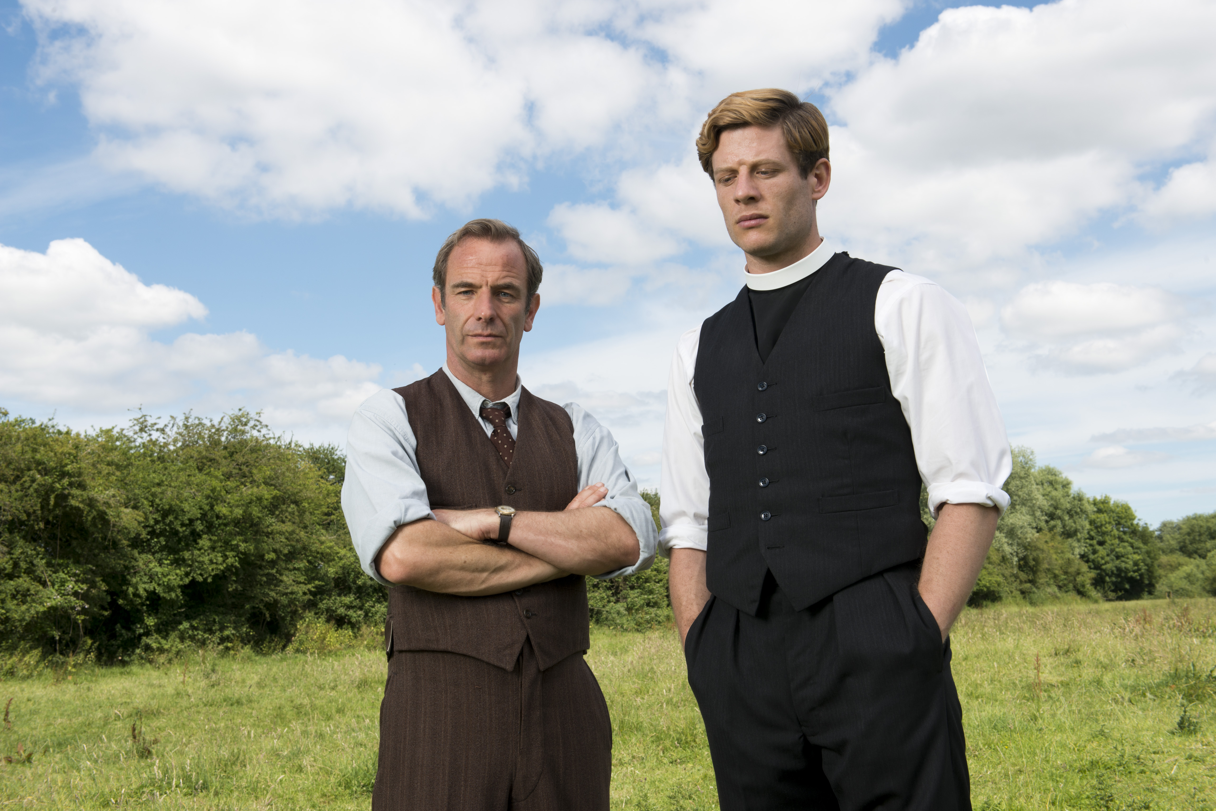 Robson Green hopes Grantchester will go abroad for series three