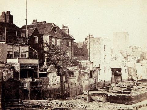 Incredible 'sliding' photos show how Britain has changed in past 150 years
