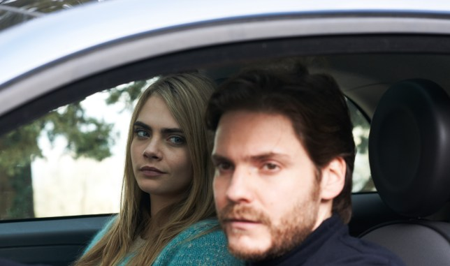Cara Delevingne stars alongside Daniel Brühl in The Face of an Angel (Picture: Soda Pictures)