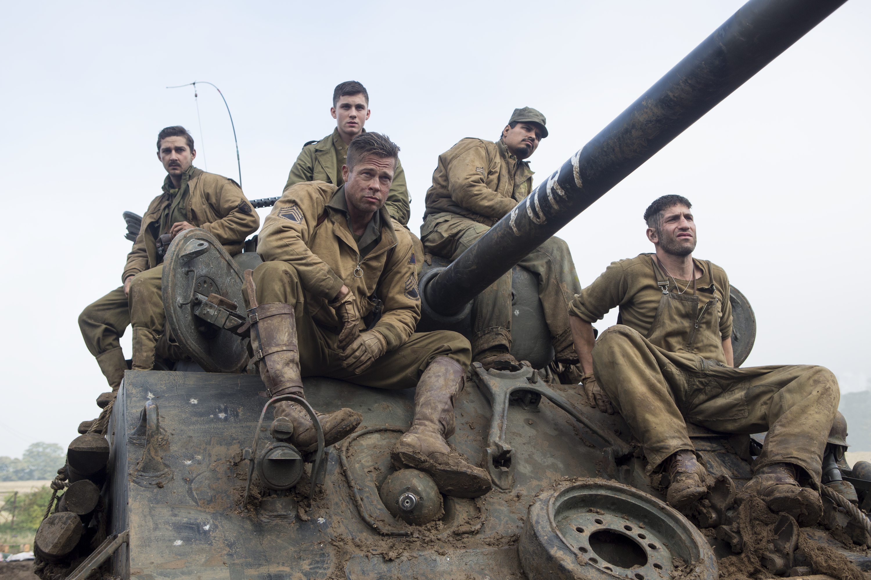 Brad Pitt gives a great performance as Wardaddy (Picture: Sony Pictures)
