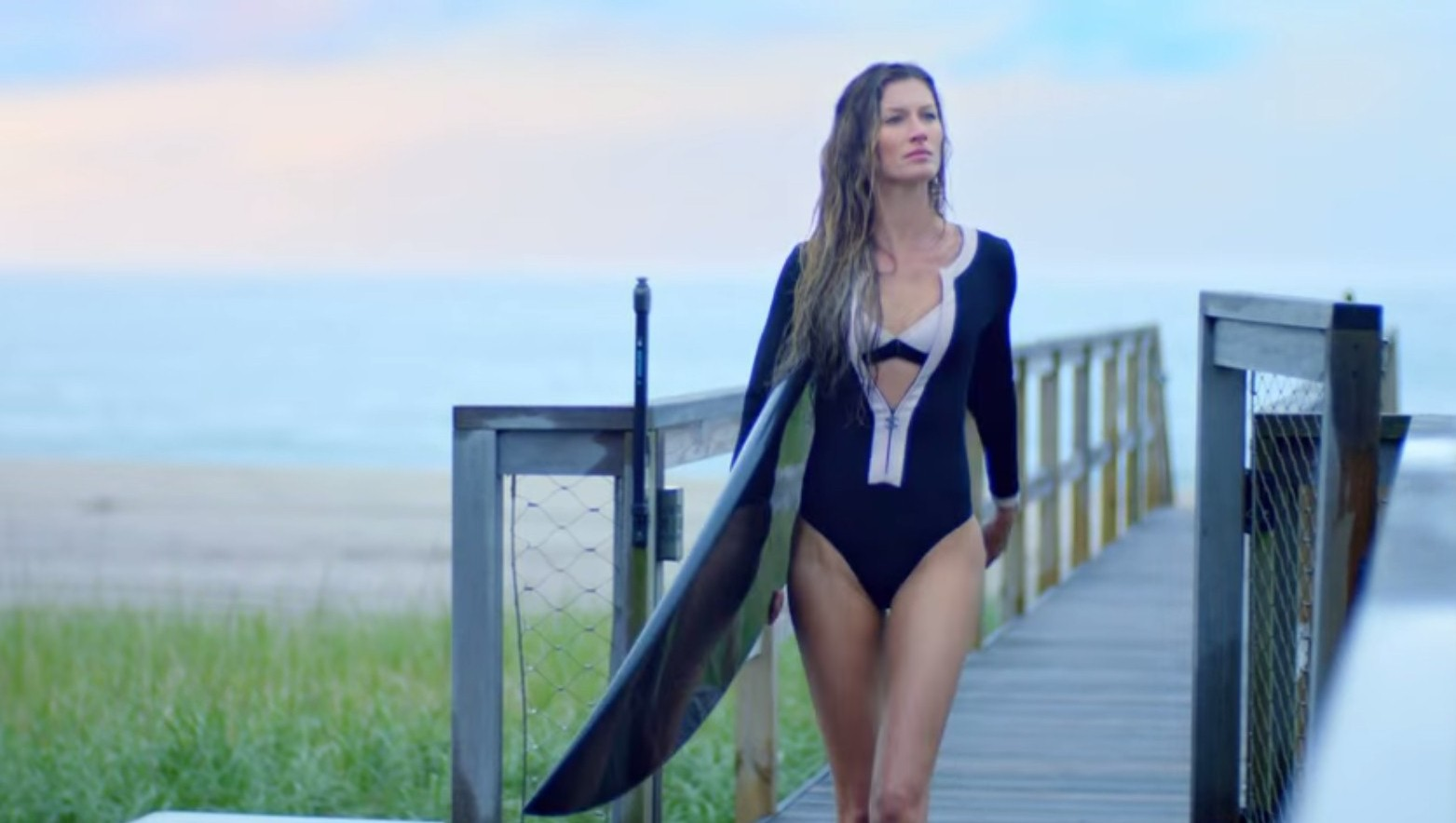 Chanel's new Baz Luhrmann blockbuster starring Gisele Bundchen as a sexy surfer is giving us chills