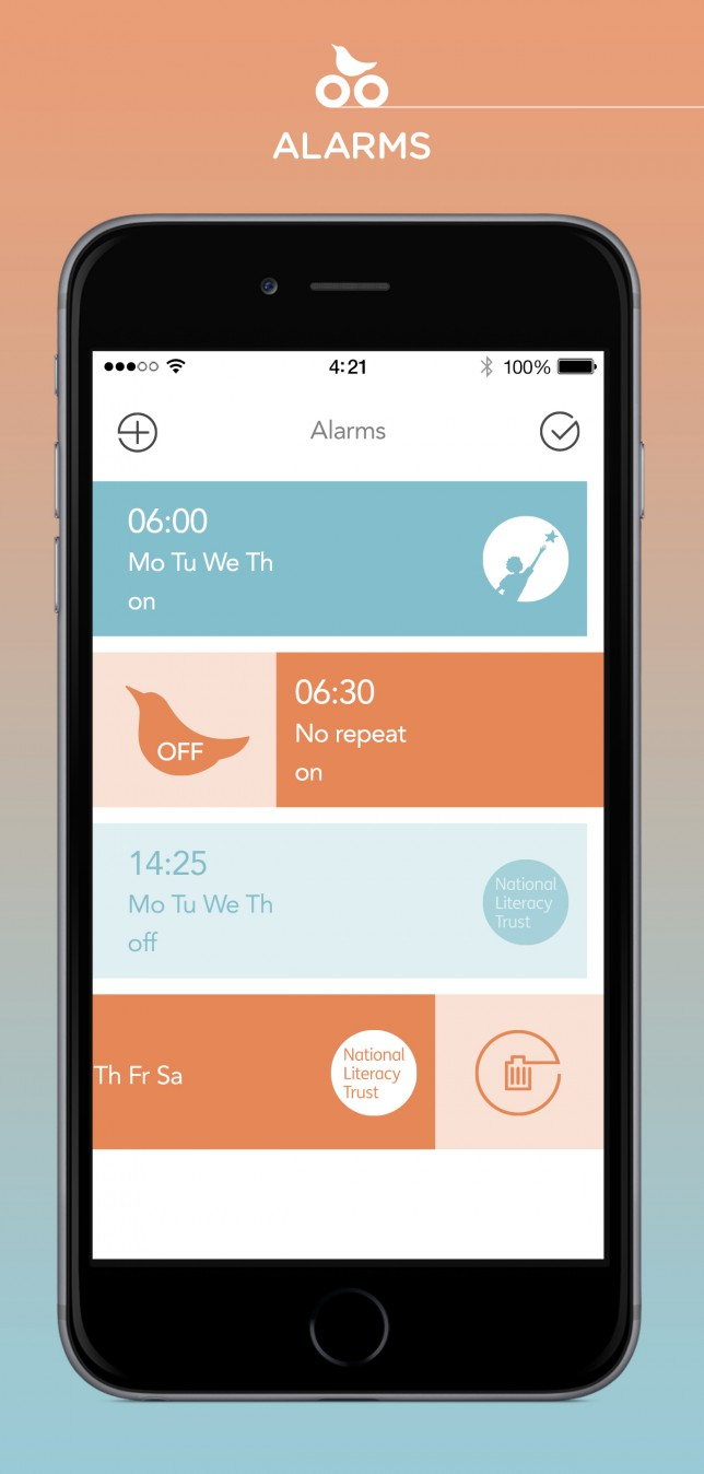 Clocks go back 2014, Alarm app, iCukoo app, App that donates to charity when you snooze, charity apps, Snooze apps