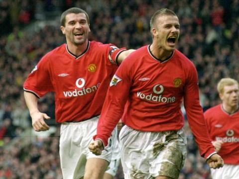 Roy Keane: Sir Alex Ferguson wanted me to take Manchester United no.7 to spite 'f****** David Beckham'