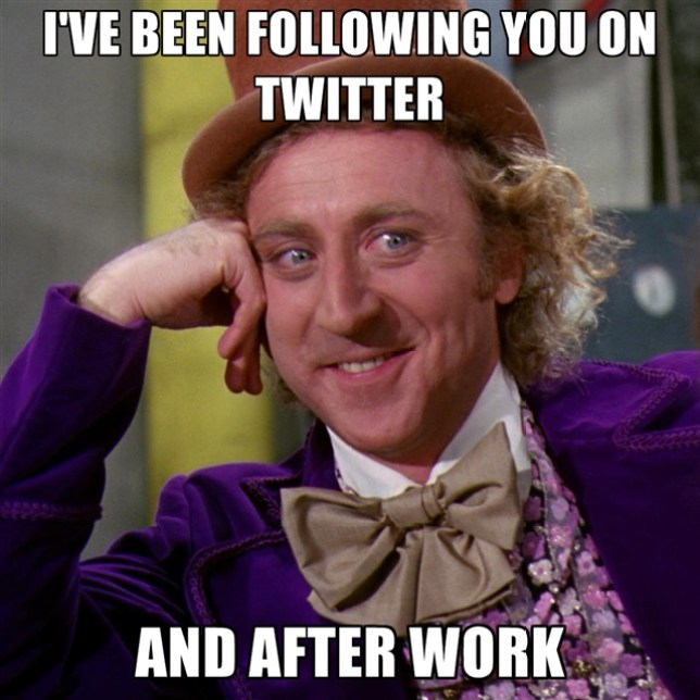 ive-been-following-you-on-twitter-and-after-work