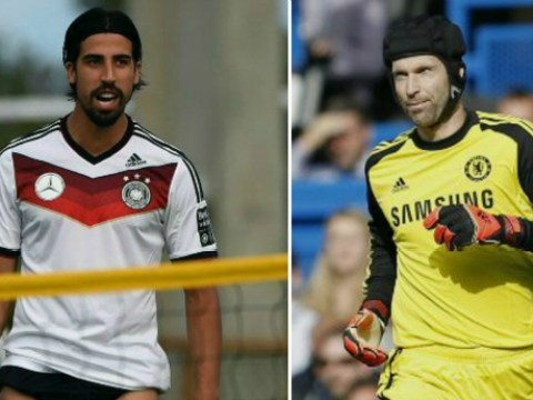 Chelsea to beat Arsenal to Real Madrid ace Sami Khedira with Petr Cech swap transfer