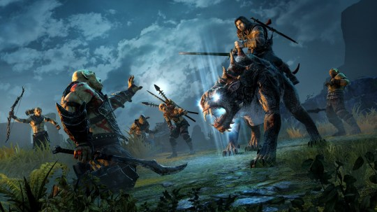 Middle-Earth: Shadow Of Mordor (PS4) - unfortunately Battle Cat here steers like a cow