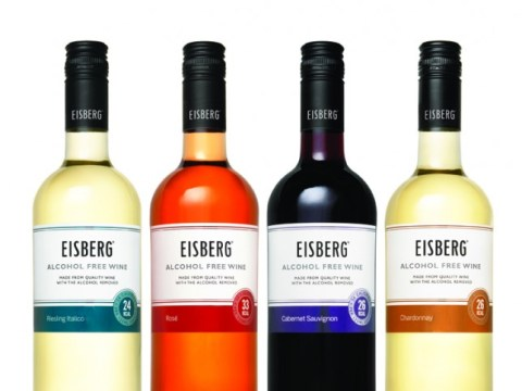 Er hello, you can drink Eisberg wine at your desk (yes, really)