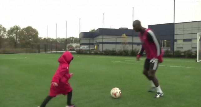 New York Red Bulls make dreams of five-year-old with rare disease come true after signing her on one-day deal