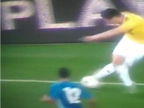 James Rodriguez executes beautiful 'rabona' during Colombia's win over El Salvador