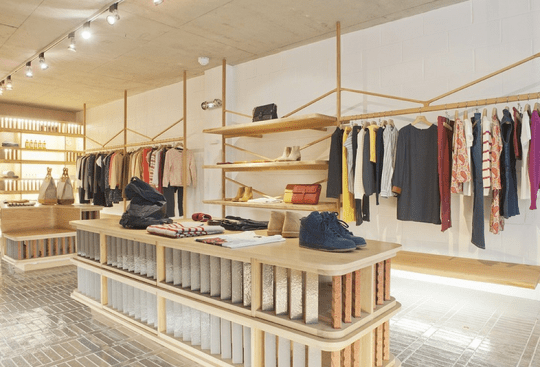 Get some Parisian cool in Shoreditch. Picture: A.P.C.