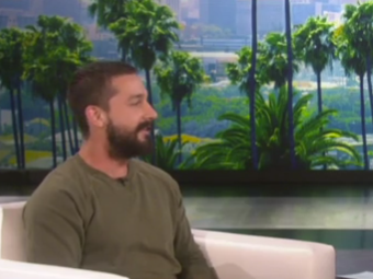 Shia LaBeouf opens up to Ellen DeGeneres: 'I had some hiccups, some judgment errors'