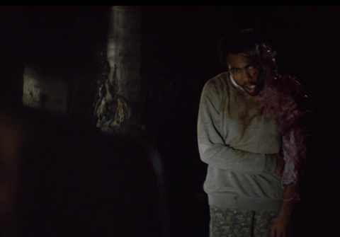 WTF is going on at the end of Childish Gambino's Telegraph Ave video?