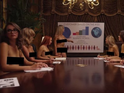 Lap-dancing club's YouTube advert is being heavily shared (funny that)
