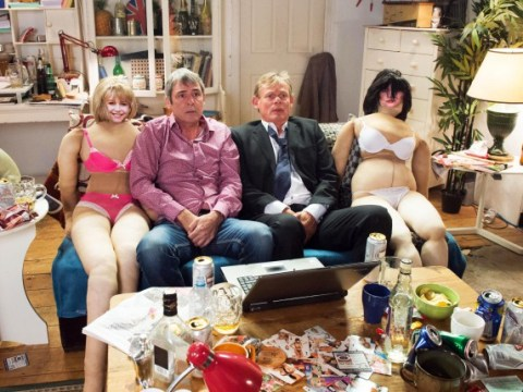 Men Behaving Badly: Martin Clunes and Neil Morrissey are reuniting in a one off sketch