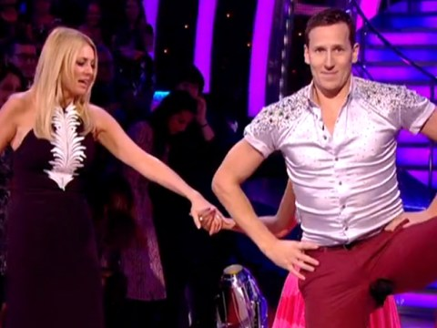Yes everybody, Brendan Cole did split his trousers on Strictly Come Dancing