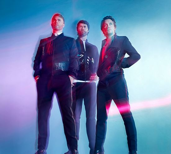 Take Three: First picture of Take That as a three-piece as they confirm new album without Jason Orange