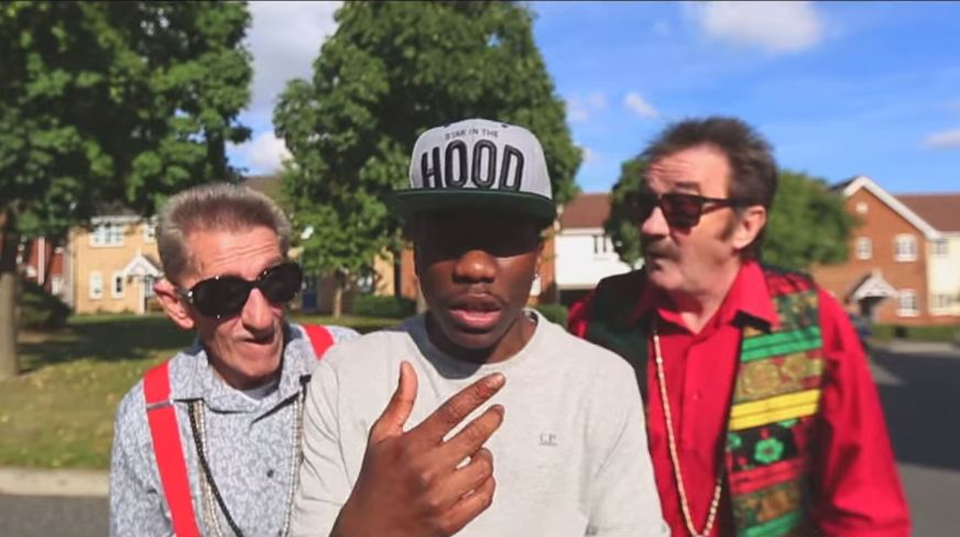 tinchy stryder, chuckle brothers