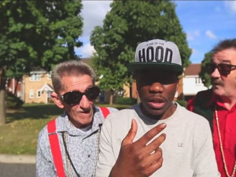 Tinchy Stryder's collaboration with the Chuckle Brothers is completely bonkers
