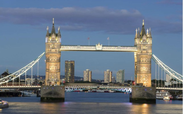 London's Tower Bridge during the day (Picture: