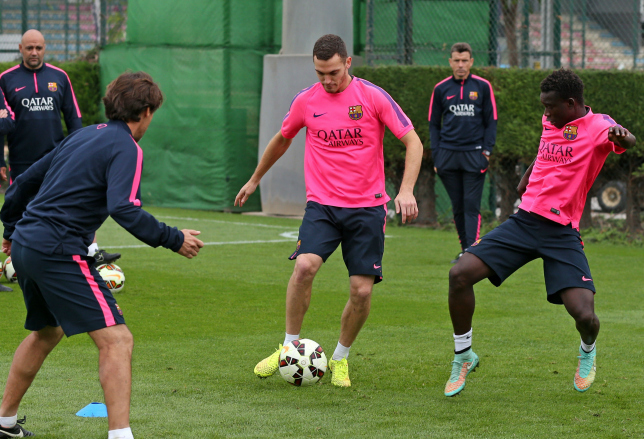 Thomas Vermaelen has yet to play a single game for Barcelona (Picture: Getty Images)