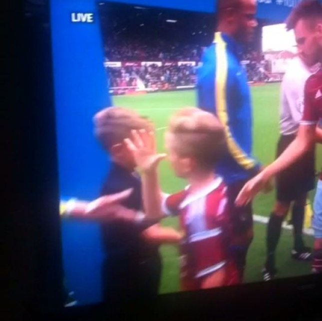This Hammers fan will probably be treated like a hero (Picture: Vine)