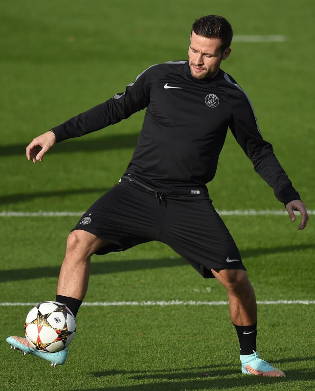 Manchester United join Arsenal and Liverpool in race for Yohan Cabaye