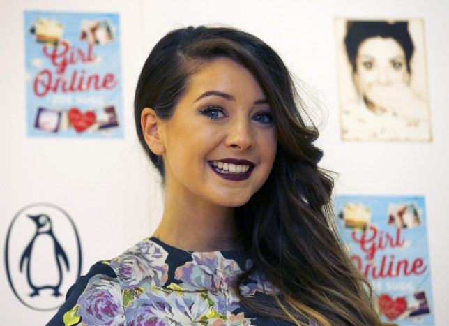 YouTube blogger Zoe Sugg, known as Zoella (Picture: Reuters)