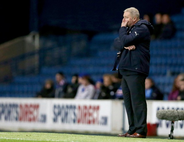 Hearts still beating fast as Rangers and Ally McCoist stumble into further shambles