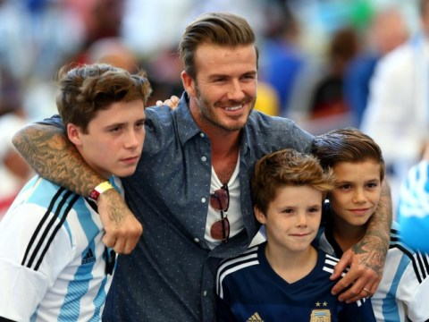 David Beckham 'massively apologetic' after he and son Brooklyn are involved in a car crash