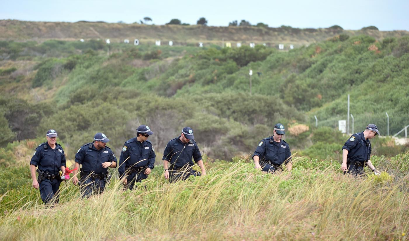 Children playing on beach find baby's body in sand dunes