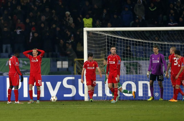 Liverpool and Manchester can progress with just two Champions League wins – this makes a mockery of the words 'cup competition'