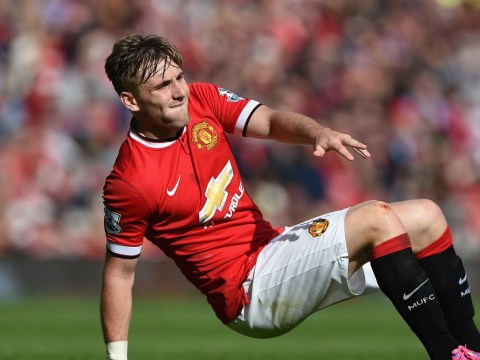 Manchester United's Luke Shaw turned away from X Factor after arriving five minutes late