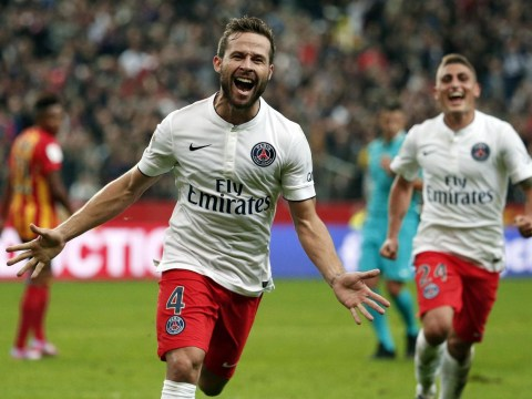 Arsenal to 'make double transfer swoop' for PSG duo Yohan Cabaye and Ezequiel Lavezzi