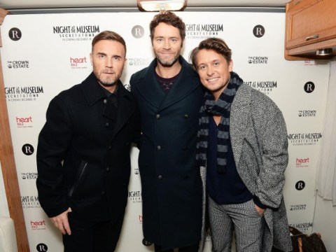 Take That score first number one single as a trio