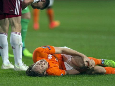 Daley Blind left 'gutted' after being ruled out of Manchester United action for up to six weeks with knee injury