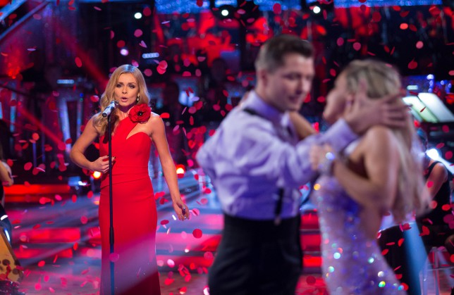 Strictly Come Dancing 2014: Katherine Jenkins denies miming claims on Twitter saying 'thanks for the compliment'