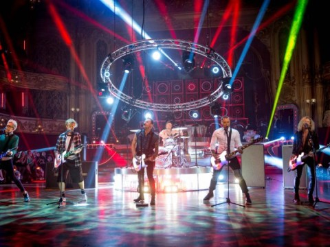 Watch McBusted set the stage alight in electrifying Air Guitar performance from their Most Excellent Adventure Tour