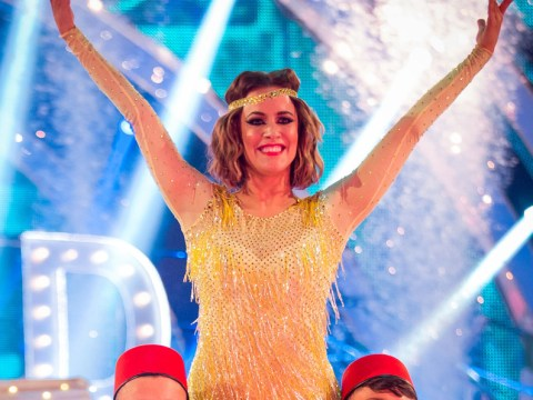 Strictly Come Dancing 2014: Caroline Flack's Charleston was full of Turkish delight to top the leaderboard