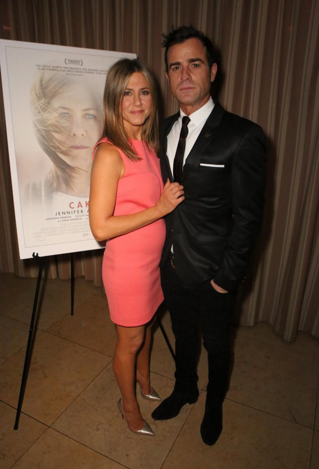 Jennifer Aniston: Every time I have a party my friends think I'm getting married