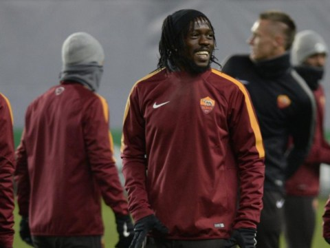 Ex-Arsenal forward Gervinho caught trying to smuggle a woman on a flight back to Roma