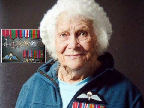 93-year-old British spy is recognised for her role in liberating France from Nazi rule